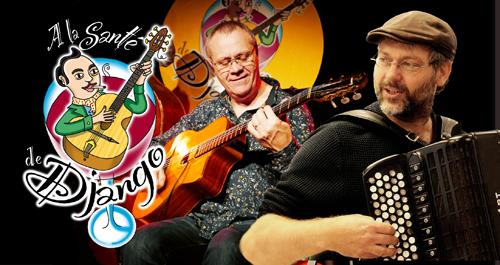 A la santé de Django! Patrick Reboud & Laurent Courtois