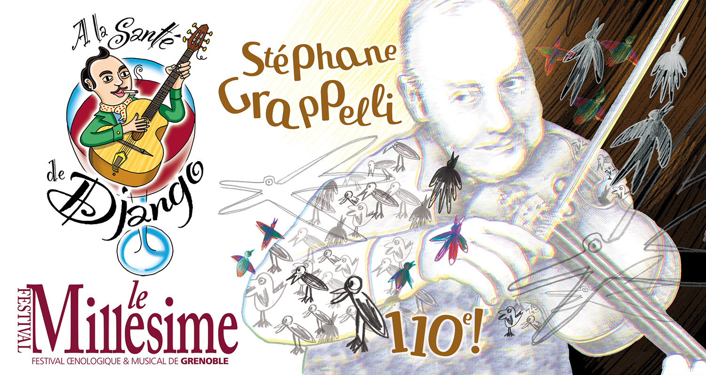 Django - Festival Millésime - Hommage à Stéphane Grappelli