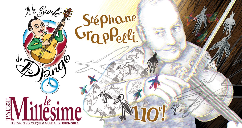 Django - Festival Millésime - Hommage à Stéphane Grappelli - Complet