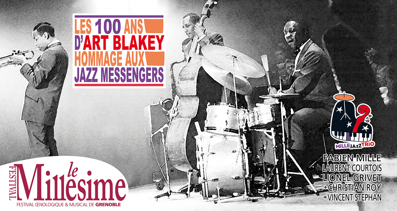 Festival Millésime : Les 100e d'Art Blakey !