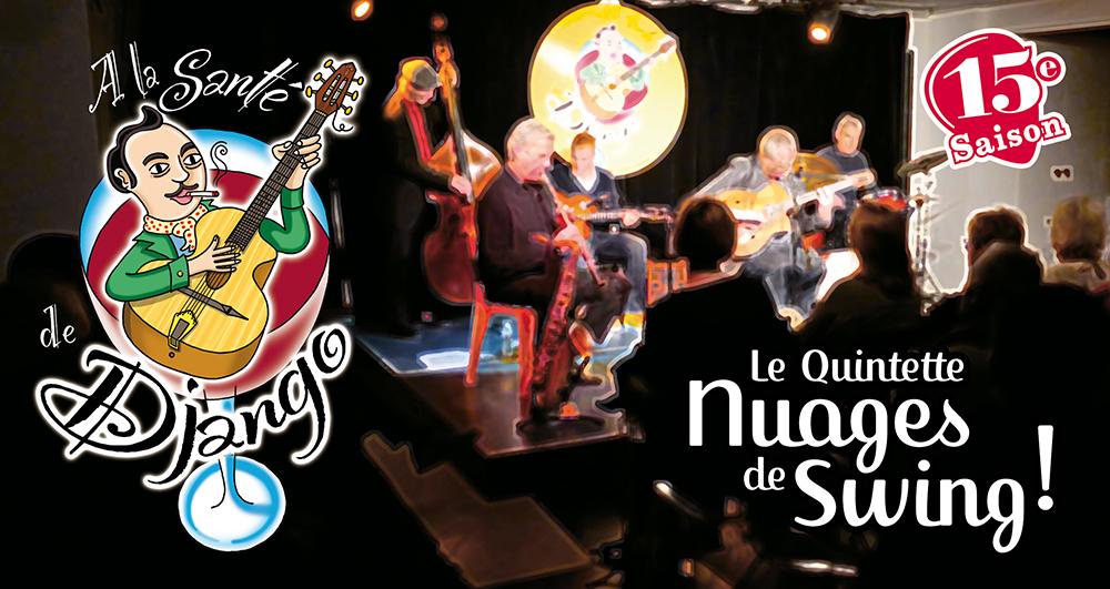 A la santé de Django : Le Quintette Nuages de Swing