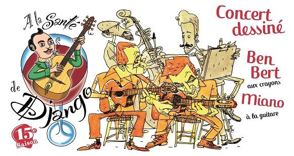 A la santé de Django : Ben Bert + Miano